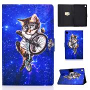 Taltech Cover for Huawei MatePad T8 - Cycling cat
