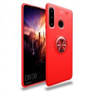Taltech Case with Magnetic Phoneholder for Huawei P40 Lite E - Red