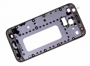 Galaxy J3 2017 Front Cover Frame Black