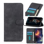 Taltech KHAZNEH Retro Wallet Cover for iPhone 12 Mini - Black