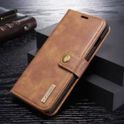 DG.MING Cover 2-in-1 Split for Samsung Galaxy S10 Plus - Brown