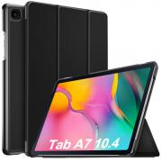 "Taltech Tri-fold Cover with Stand for Galaxy Tab A7 10.4"" 2020 - Black"