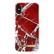 iDeal of Sweden iDeal Fashion Case for iPhone X & XS - Scarlet Red Marble