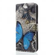 Cover for Huawei P20 Lite - Blue Butterfly