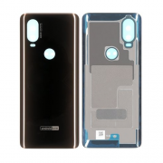 Motorola One Vision Back Cover Black Original