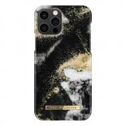 iDeal of Sweden iDeal Fashion Case for iPhone 12/12 Pro - Black Galaxy Marble