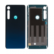 Motorola One Marco Back Cover Blue Spaceship