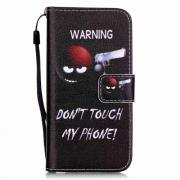 Taltech Cover for iPhone 7 & 8 - Warning Don't touch my phone