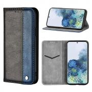 Taltech Business Splice Wallet Cover for Samsung Galaxy S21 5G - Blue