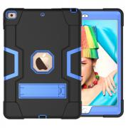"Taltech ShockProof TPU Case with Stand for iPad 10.2"" 2019/2020 - Black/Blue"