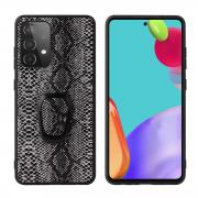 Taltech Kickstand Case with Ringholder for Galaxy A52 4G/5G - Snake Texture