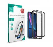 SiGN iPhone 11 & XR SiGN Full Coverage Screen Protector Tempered Glass
