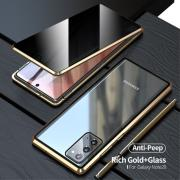 Taltech 2-in-1 Case + Screen Protector for Samsung Galaxy Note 20 - Gold