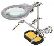 goobay Goobay LED Magnifier Lamp with Sponge and Holder