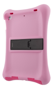 """DELTACO Deltaco Silicone Case with Stand for 10.2-10.5"""" IPad - Pink"""