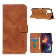 Taltech KHAZNEH Wallet Cover for OnePlus Nord N100 - Brown