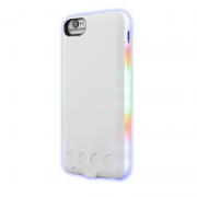 EPZI Epzi Mcase Flash Case for iPhone 6-6s-7-8 with LED Lampor - White