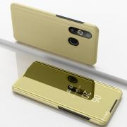 Taltech View Window Electroplated Cover for Samsung Galaxy A50 - Gold