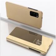 Taltech Cover View + Mirror for Samsung Galaxy A41 - Gold