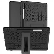 Taltech Tyre Pattern Case for Samsung Galaxy Tab S7 Plus - Black