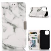 Taltech Marble Cover for iPhone 12/12 Pro - White