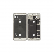 Galaxy J5 2016 Front Cover Frame White