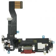 Taltech iPhone 12 Pro Charging Port with Flex Cable - Red
