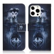 Taltech IPhone 13 Pro cover- Dog & Wolf