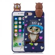 Taltech Shockproof Cartoon Case for iPhone 7/8 - Blue Owl