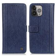 Taltech IPhone 13 Pro Max wallet cover- Blue