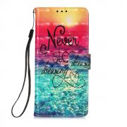 Taltech Wallet Cover for Samsung Galaxy S21 Ultra 5G - Sea of Clouds/Colorful