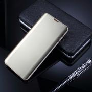 Window Mirror Cover for Samsung Galaxy S10 - Gold