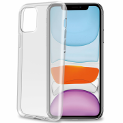 Celly Celly Gelskin Case for iPhone 11 - Transparent