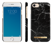iDeal of Sweden iPhone 6/6S/7/8 - Black Marble