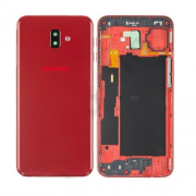 Samsung Galaxy J6 Plus Back Cover Red