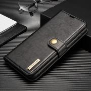 Taltech DG.MING 2-in-1 Wallet Cover for Samsung Galaxy S21 Plus 5G - Black