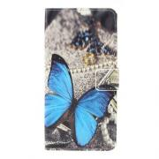 Taltech Cover for Samsung Galaxy A10 - Blue Butterfly