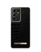 iDeal of Sweden iDeal Of Sweden Atelier Case for Samsung Galaxy S21 Ultra 5G - Neo Noir Croco