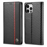 Taltech LC.IMEEKE iPhone 13 Pro Max cover- Vertical Red Stripe