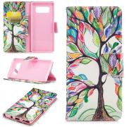 Cover for Samsung Galaxy Note 8 - Colorfull Tree