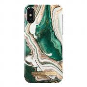 iDeal of Sweden iDeal Fashion Case for iPhone X/XS - Golden Jade Marble