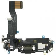 Taltech iPhone 12 Pro Charging Port with Flex Cable - Black