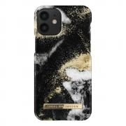iDeal of Sweden iDeal Fashion Case for iPhone 12 Mini - Black Galaxy Marble