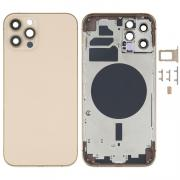 NONAME iPhone 12 Pro Complete Back Cover Glass with Frame - Gold