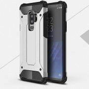 Armor Protection Case for Samsung Galaxy S9 Plus - Silver