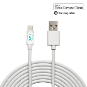 SiGN SiGN Lightning Cable for iPhone / iPad, Mfi Certified 3 m
