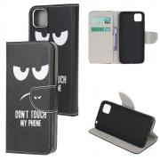 Taltech Wallet Cover for Huawei Y5p - Don't Touch