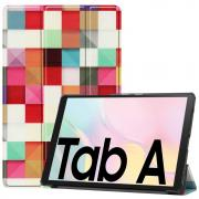 "Taltech Cover for Galaxy Tab A7 10.4"" 2020 - Color Plaid"