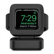 Taltech Retro Charging Stand for Apple Watch 1-2-3-4-5 - Black