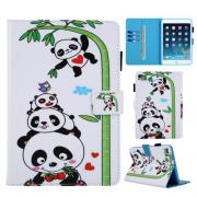 "Panda on Bamboo PU Cover for iPad 9.7"", Air, Air 2"